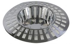 DURATOOL D02088  Sink Strainer Chrome 1.3/4